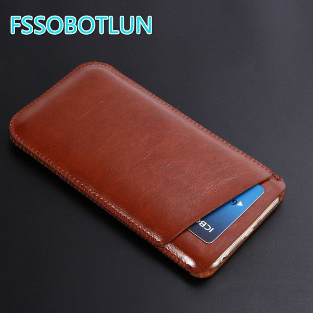 reputable site 9c53a 64f0e US $8.09 19% OFF|FSSOBOTLUN Best Quality For iphone 8 case Ultra Thin Soft  Microfiber Leather Phone sleeve bag Cover Pouch For iphone 8 Plus Case-in  ...
