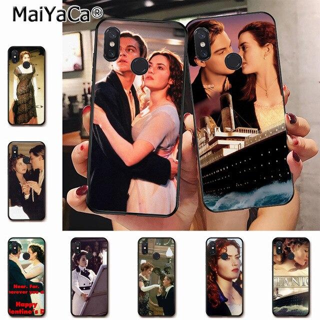 Maiyaca Titanic Movie Jack And Rose Originalblack Phone Case Cover