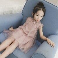 Girls Dress Kids Children Summer Sleeveless Vest Dress Princess Dress Girl Summer Dress