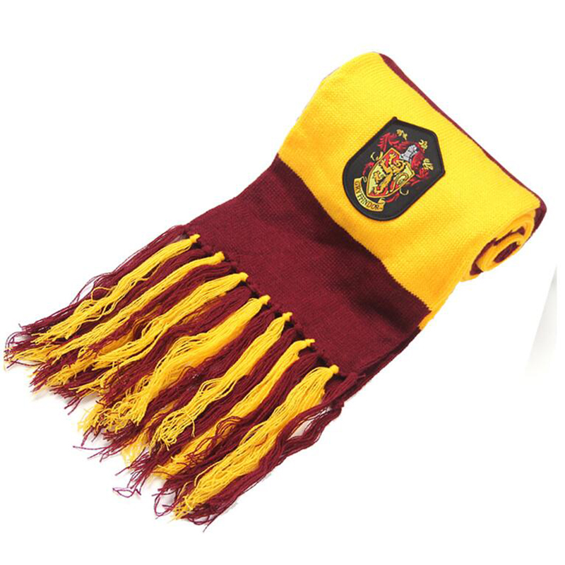 2017 New Children College Scarves Gryffindor Wrightlin Slytherin Scarf Scarves Lengthened Thicker Holiday Gifts A778 Selected Material