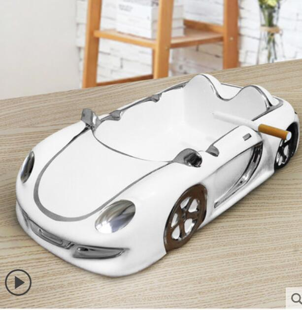 High-end creative ceramic ashtray for car ashtray
