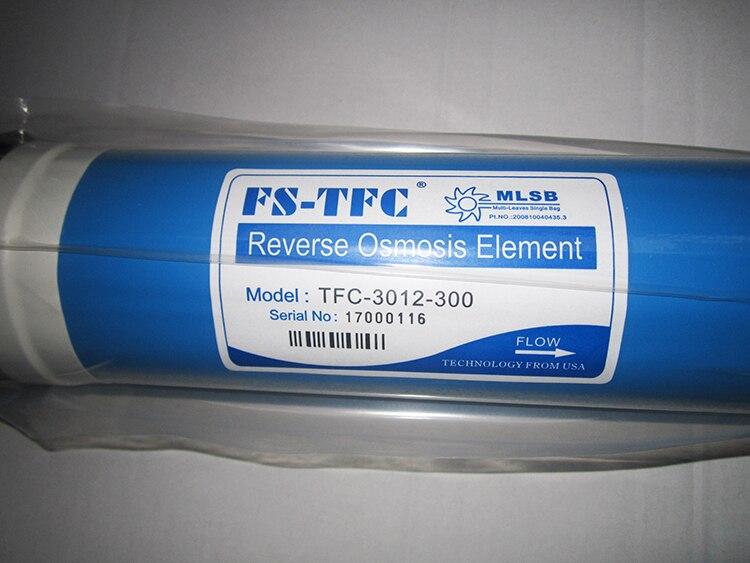 MEMBRANA OSMOSI INVERSA 300 gpd,FS-TFC membrane 3012-300 gpd,membrana da 300 gpd