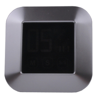 Yeni dokunmatik ekran zamanlayıcı, büyük LCD ekran elektronik mutfak sayacı, ücretsiz kargo