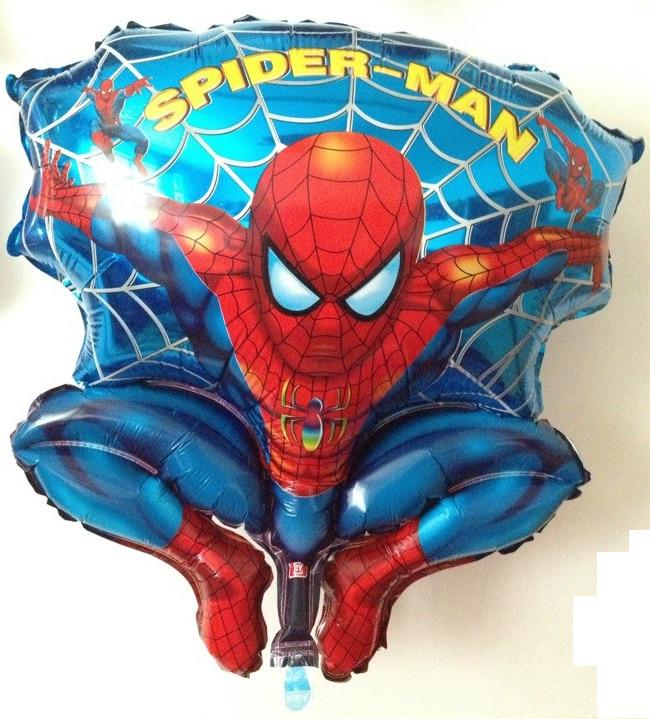 20pcs / lot 3D 18-palčni folijski baloni, natisnjeni s junakom - Prazniki in zabave