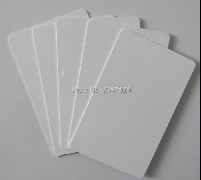 Good Quality Plastic Blank White PVC ID Card Inkjet Printable PVC ID Cards Seller