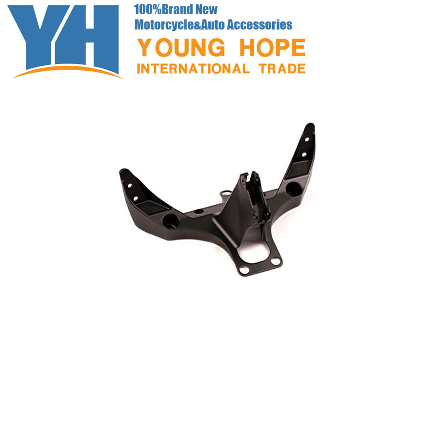 For  Yamaha 2002-2003  YZF R1 Aluminum Upper Fairing Stay Bracket 02 03, Chinese Motorcycle Spare Parts Accessory yamaha pneumatic cl 16mm feeder kw1 m3200 10x feeder for smt chip mounter pick and place machine spare parts
