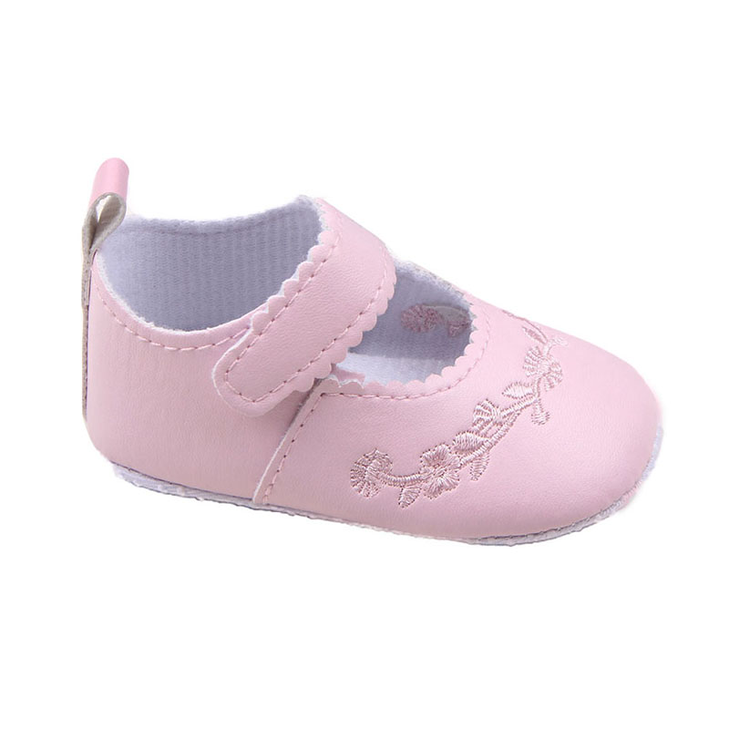 0-12M Nyfödda Babyskor Prewalker First Walkers Lovely Sneakers Spädbarn Kids Girls Princess Skor Baby Toddles Shoes 2018 New