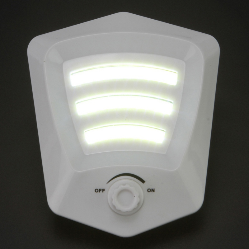3X Bright COB Dimmer switch lamp LED corridor wall light cabinet Ceiling lighting