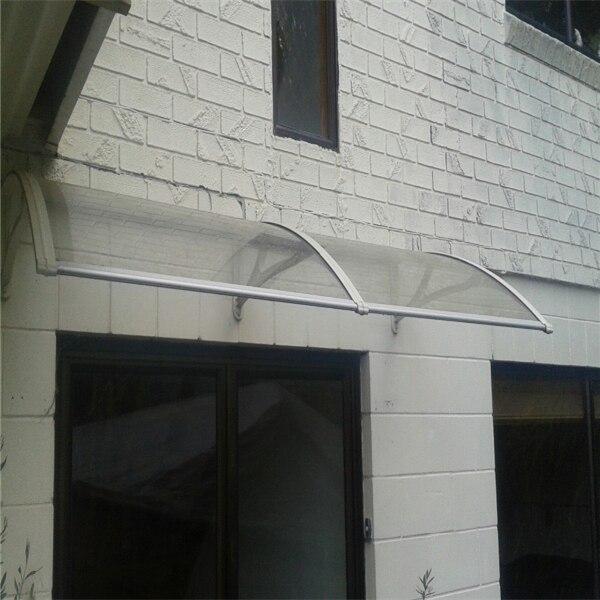 YP80200 80x200 cm 31.5x79in freesky diy porta dossel toldo da janela toldos e coberturas em policarbonato policarbonato toldo