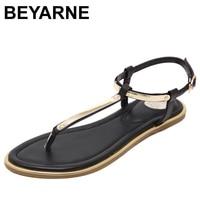 Women Sandals 2016 New Summer Sequin Sandals Flip Flops Size 33 To 43 Shoes Flat Sandal