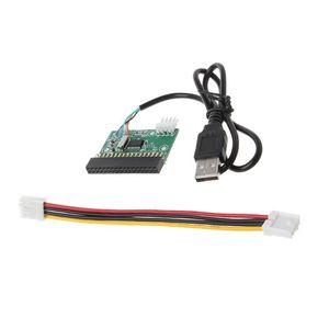 "Image 3 - 1.44MB 3.5 ""USB kablosu adaptörü 34Pin disket sürücü konektörü U Disk disket PCB kartı"