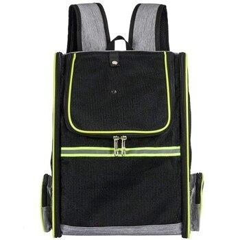 небольшие походные рюкзаки | Рюкзак для переноски домашних животных для маленьких собак или кошек, дышащий сетчатый пакет для щенков Для Путешествий, Походов, прогулок, ...