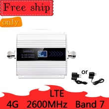 4 4G LTE 2600mhz 帯 7 携帯信号ブースター単一バンド 4 グラム携帯ネットワークブースターデータ携帯電話リピータアンプ