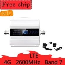 4g lte 2600mhz banda 7 celular impulsionador de sinal única banda 4g móvel rede impulsionador de dados telefone celular repetidor amplificador