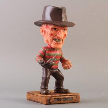 A Nightmare on Elm Street Freddy Krueger Wacky Wobbler Bobble Head del PVC Action Figure Toy
