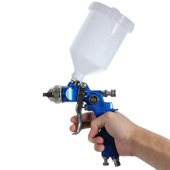 цена на 600CC 1.4mm HVLP Air Spray Gun Tool Automotive Shop Painting Tools with Gauge