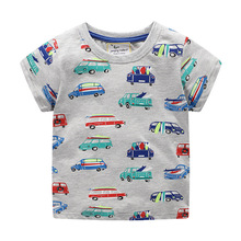 Baby Boys Children Clothing Short Sleeve T-Shirt Print girl Boy Round Neck Tees Cotton Tops 2019 New Kids Clothes Casual Top