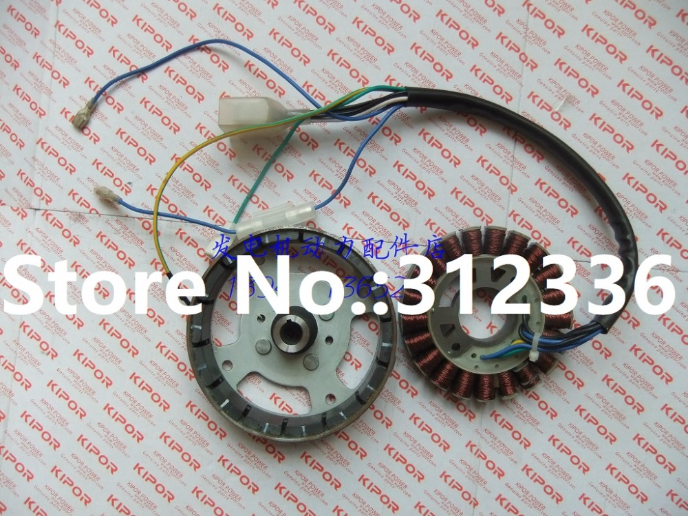 Fast Shipping 230V/50Hz IG1000 Stator Rotor Coil Inverter Generator Alternator Assembly suit for kipor kama free shipping to usa ig6000 avr new model carburator alternator assembly 220v suit for kipor kama