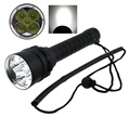 8000 Lumens Professional Diving flashlight 5xCREE XM-L2 (T6) Waterproof Underwater 100m LED Dive Lamp Torch By 2x18650 battery