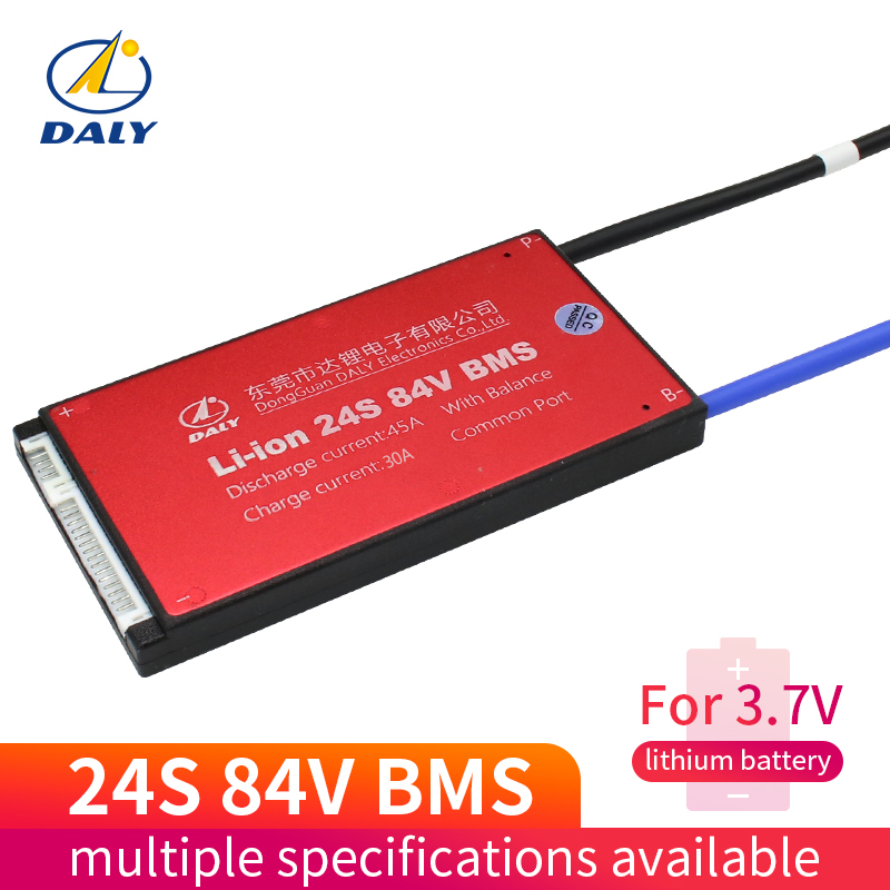 Daly Waterproof BMS 18650 Battery bms 24S 25A 35A 45A 60A Lili ion for lithium battery