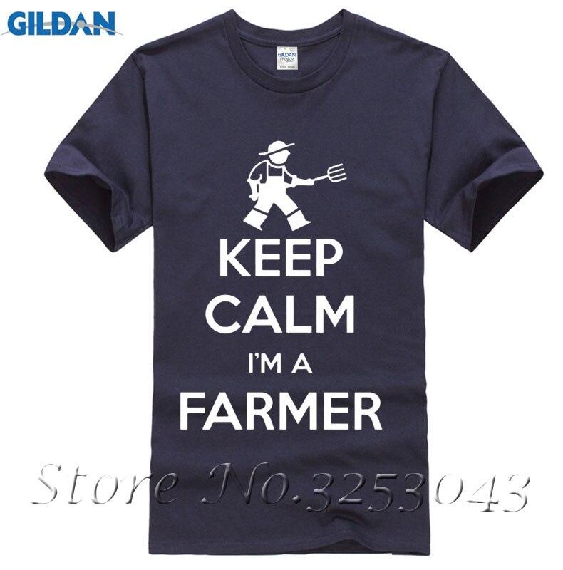 KEEP CALM IM A FARMER Farming TRACTOR Funny T-Shirts