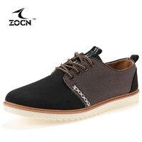 ZOCN 2016 New Men Casual Shoes Fashion Canvas Shoes For Men Shoes Men Flats Zapatos Hombre