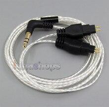 Легкий Посеребренная 4N ОКК Кабель Для Sennheiser HD414 HD420 HD430 HD650 HD600 HD580 LN005070