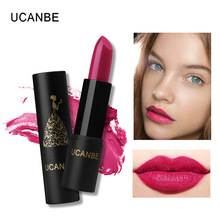 Ucanbe lip makeup moisturizing lipstick waterproof long last