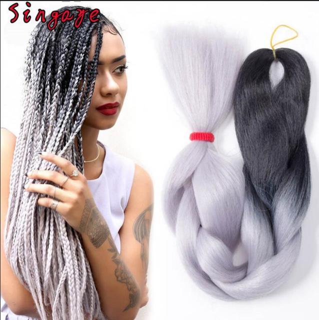 5 Boslot 24 60 Cm Jumbo Vlechten Haarverlenging Afrikaanse