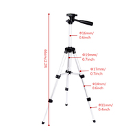 Aluminum Professional Telescopic Camera Tripod Stand Holder For Digital Camera Camcorder Tripod For IPhone Samsung Smart