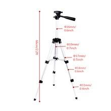 Promo offer Aluminum Professional Telescopic Camera Tripod Stand Holder For Digital Camera Camcorder Tripod For iPhone Samsung Smart Phone