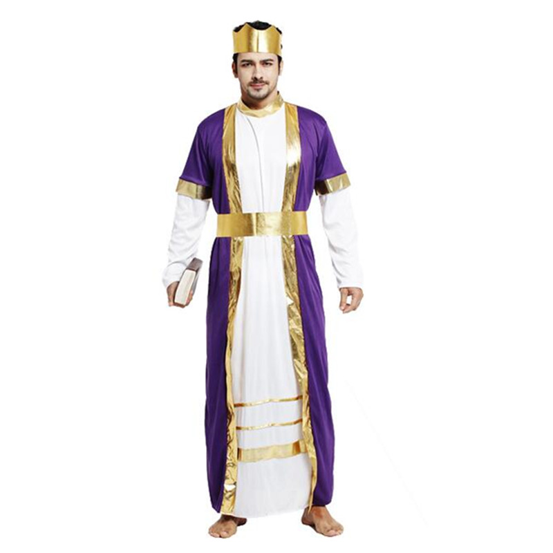 2018 Kids Adults Jesus Drama Priest Costumes Pope Nun Cosplay