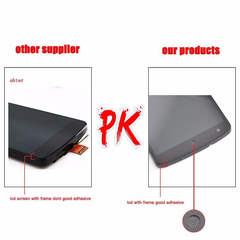 Google-Nexus-5-D820-D821-Black-LCD-Display-Touch-Screen-Digitizer-Assembly+Frame-PK-120