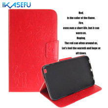 IKASEFU Filp Stand PU Leather Case For Samsung Galaxy Tab 3 8.0 inch Coque FundasTablet Cover For Samsung Galaxy Tab 3 8.0 T310