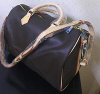 Emarald 2019 new fashion high quality women speedy handbag Pillow bag 30/35cm with starp FREE SHIPPING