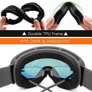 Image 4 - Ski Goggles,Winter Snow Sports Goggles with Anti fog UV Protection for Men Women Youth Interchangeable Lens   Premium Goggles