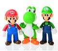 3pcs, BOHS Super Mario Bros Mario Yoshi Luigi PVC Action Figure Collection Model Toys Dolls