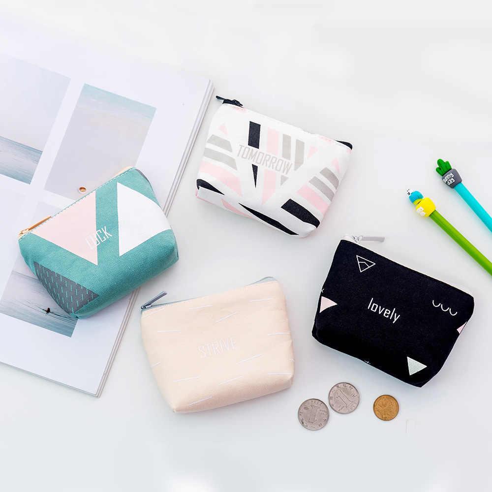 Etya carteira de moedas feminina, porta-cartões de crédito fofo, pequena, bolsa para dinheiro, para senhoras, crianças, com zíper bolsa para