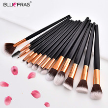 BLUEFRAG Profesional Makeup Brushes Set Powder Foundation Blush Eye Shadow Blend Cosmetic Beauty Make Up Brush Tool Kit 4/7/14