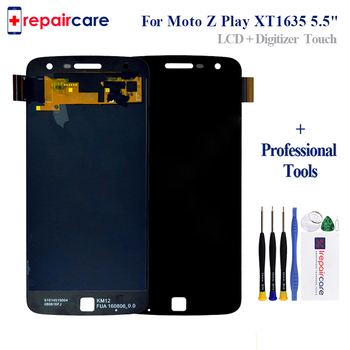 For Motorola Moto Z Play Droid XT1635-01 XT1635-02 LCD Display Touch Screen Digitizer Full Assembly display for Moto Z Play lcd