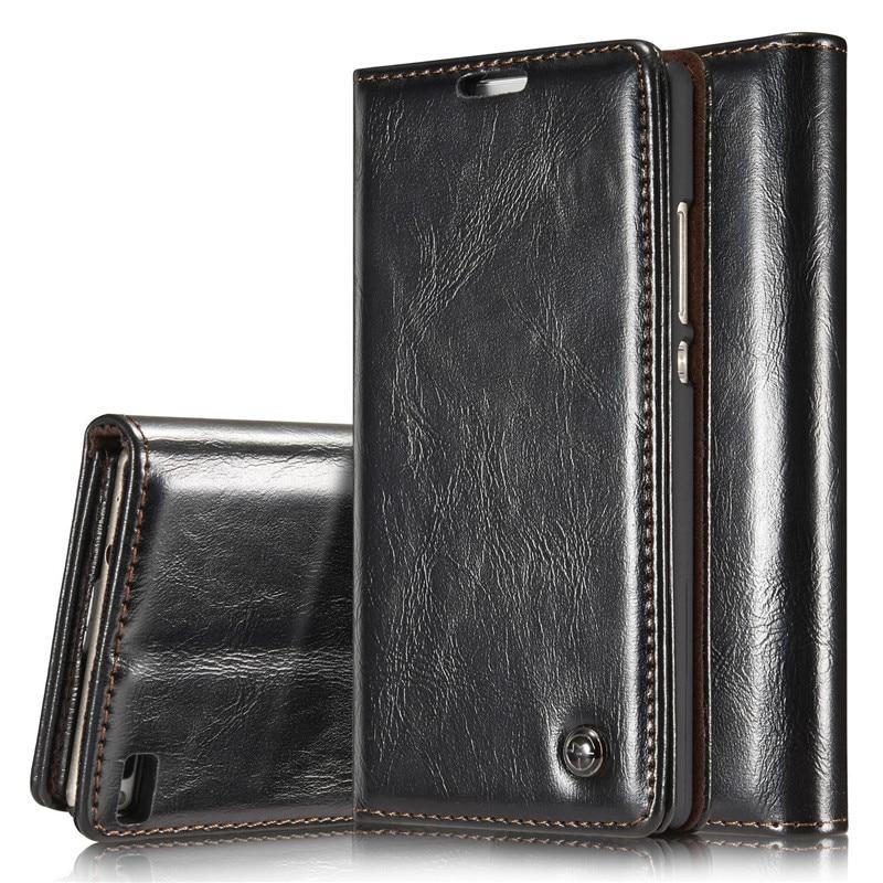 Mágneses pénztárca tok Huawei P9 Flip tok 360 könyv stílusú - Mobiltelefon alkatrész és tartozékok