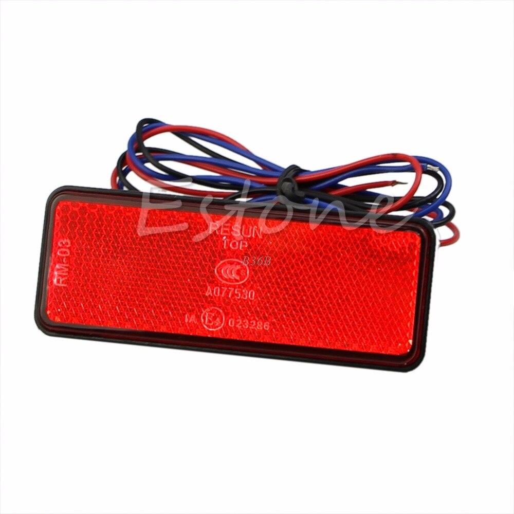 Светодиодный отражатель задний стоп-маркер светильник автомобильный прицеп мотоцикл APR18