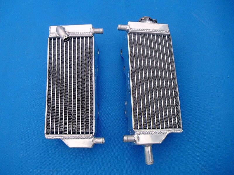 Factory Outlet aluminum Radiator For HONDA CR250R CR 250 R 2 stroke 1992 1996 92 93