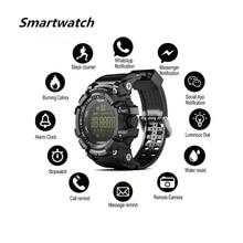 블루투스 4.0 스마트 시계 아이폰을위한 안드로이드 전화 보수계 스포츠 손목 시계 페이스 북 Whatsapp Notifier Smartwatch