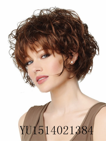 New european and american fashion dark brown color highlights new european and american fashion dark brown color highlights short curly hair free shipping on aliexpress alibaba group pmusecretfo Image collections