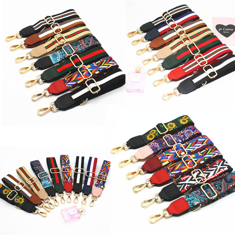 3Metal Colors! 140cm Replacement Shoulder Bag Straps for Purses, Handbags DIY 3.8cm Colorful Bag Belts, Purse Straps Adjustable