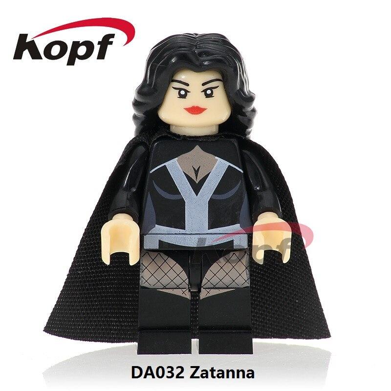 Single Sale Super Heroes Zatanna Zatara Mai Shiranui Female Joker Justice League Bricks Building Blocks Toys for children DA032