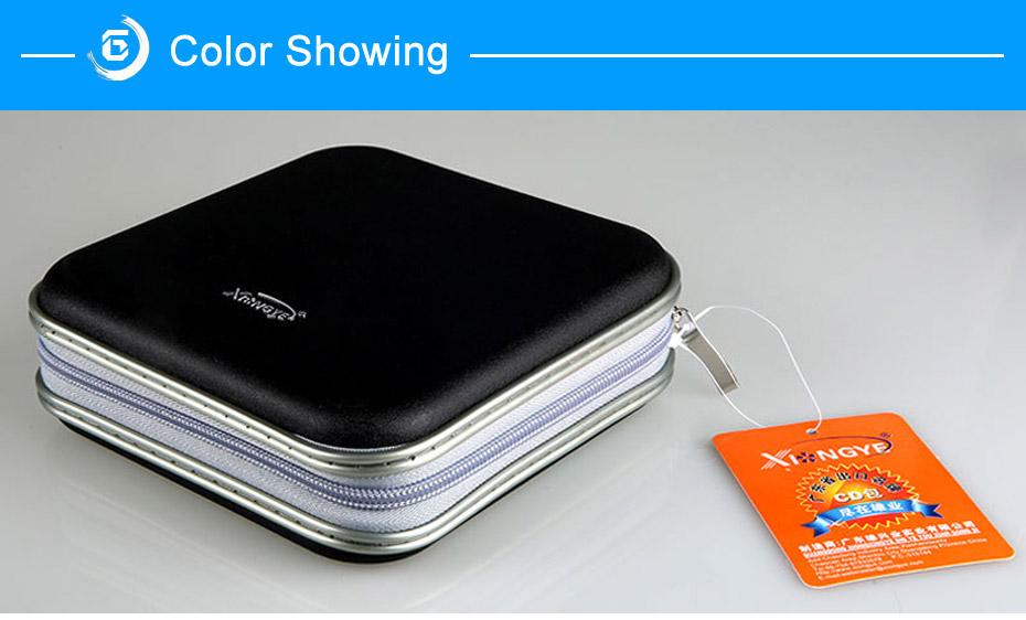 BUBM Durable CD Case 40pcs Discs Portable CD Bag DVD Case Storage Holder DVD Bag Fashion Useful CD Case For Car Bags (13)