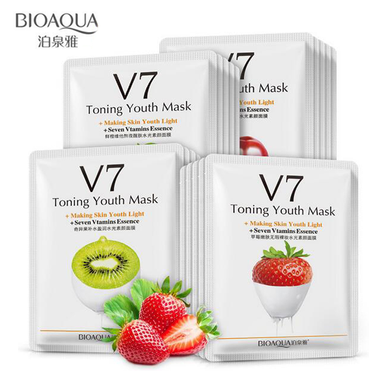 BIOAQUA V7 Toning Youth Skin Care Fruit Facial Mask