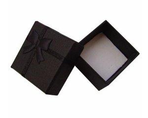 Image 3 - Toptan 48 adet/grup moda mücevher kutusu, çok renkler yüzük kutusu, takı hediye paketleme küpe tutucu durumda 4*4*3CM